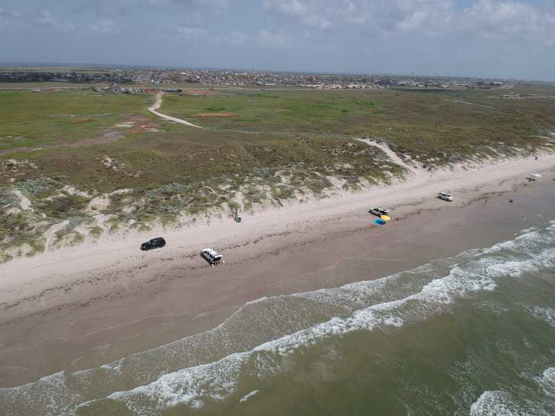 Drone Photo Port Aransas TX