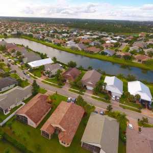 Drone Photo Port St. Lucie FL