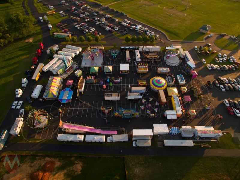 Drone Photo Portland TN