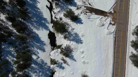 Drone Photo Poudre Canyon Co