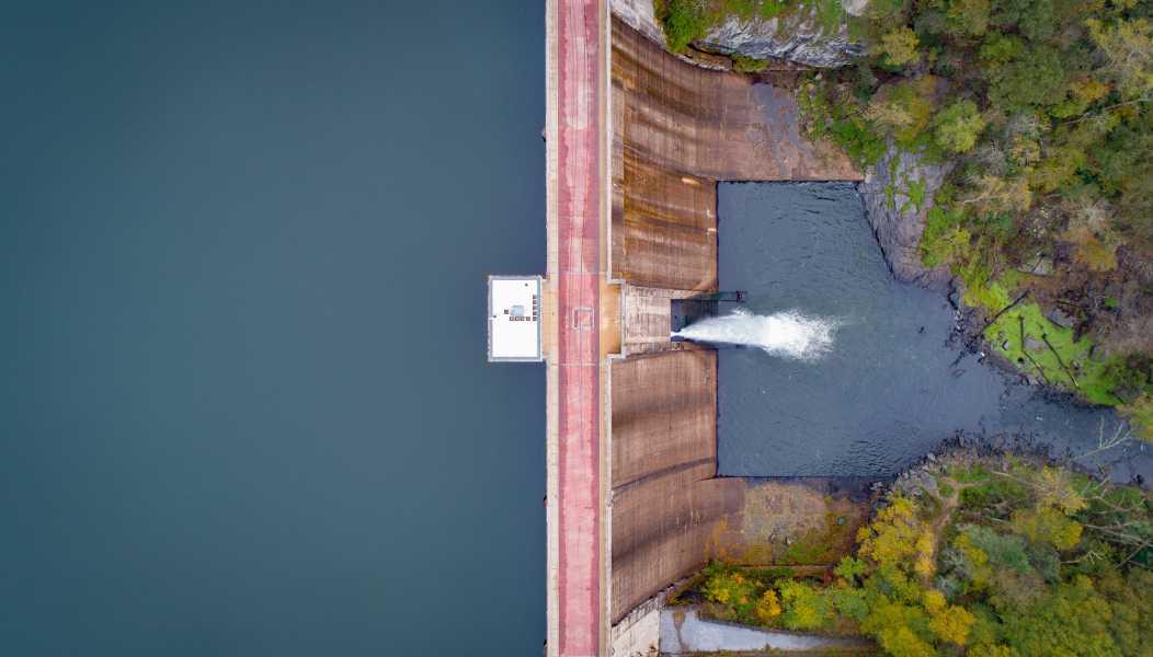 Drone Photo Prettyboy Reservoir Ma