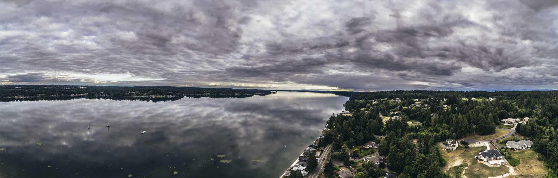 Drone Photo Purdy WA