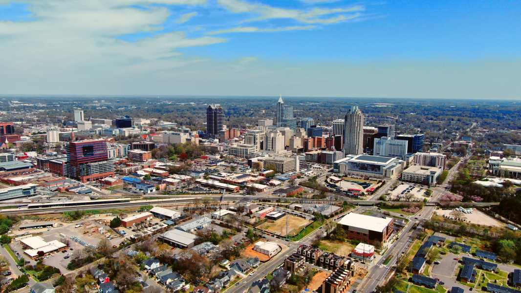 Drone Photo Raleigh NC
