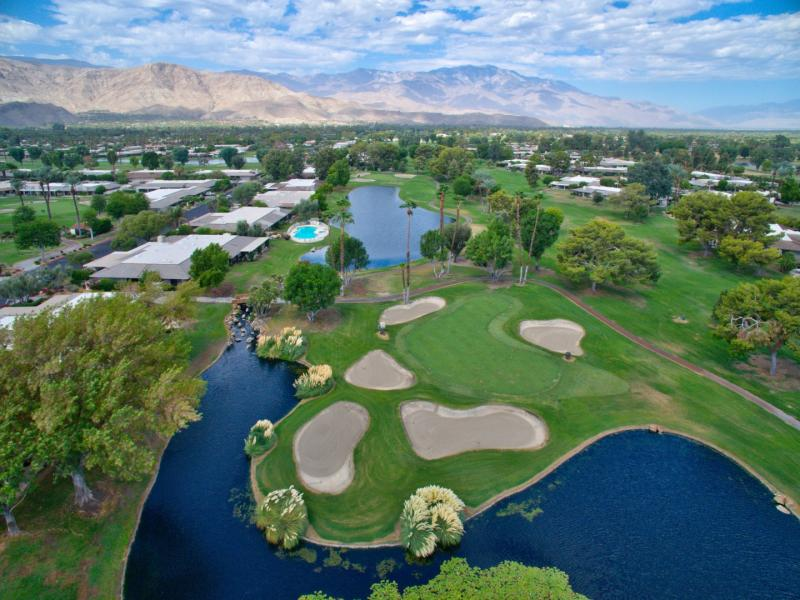 Drone Photo Rancho Mirage CA