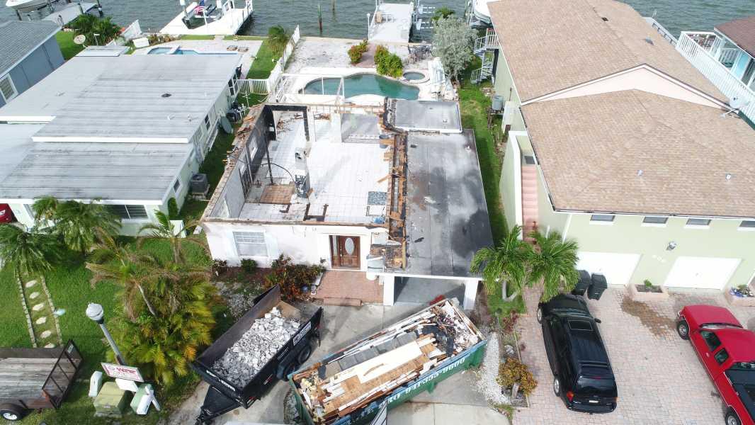 Drone Photo Redington Shores FL