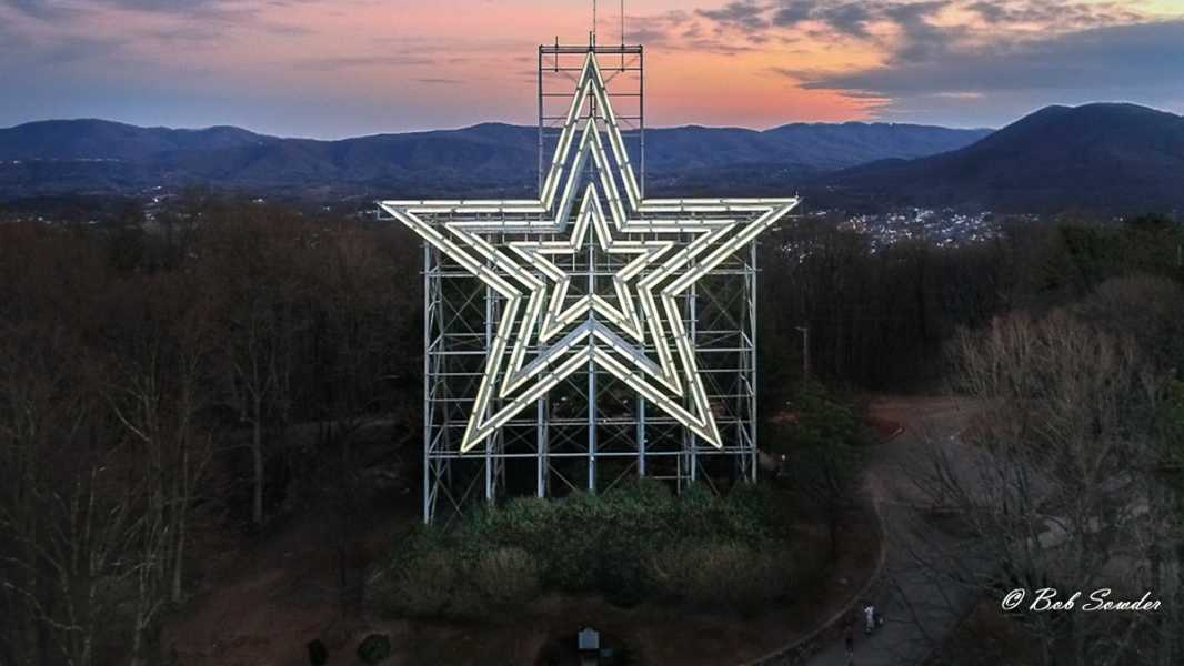 Drone Photo Roanoke VA
