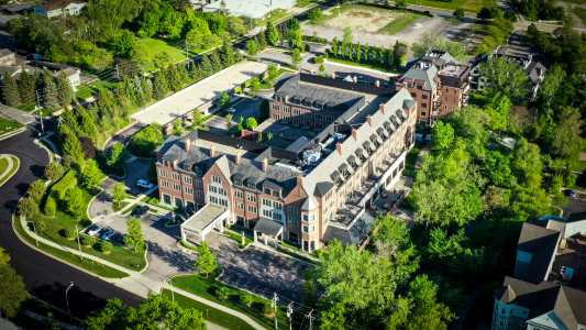 Drone Photo Rochester MI