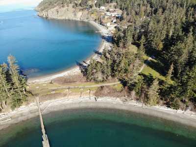 Drone Photo Rosario Beach WA
