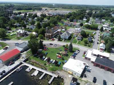 Drone Photo Rouses Point NY
