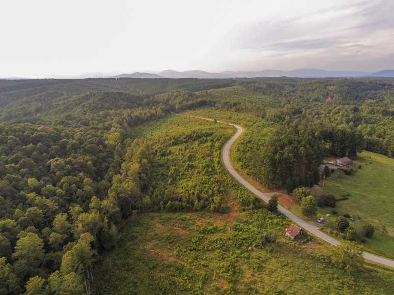 Drone Photo Rutherfordton NC