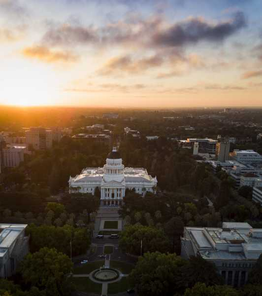 Drone Photo Sacramento CA