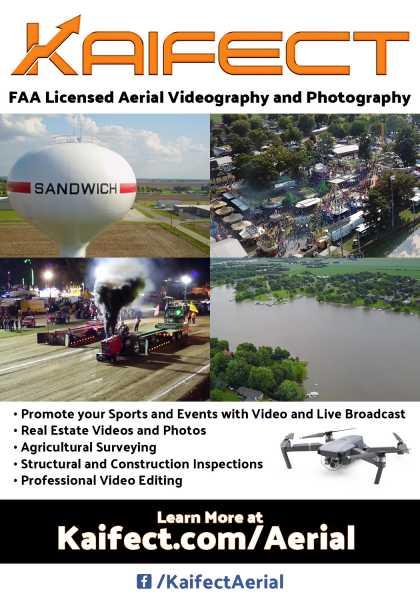 Drone Photo Sandwich IL