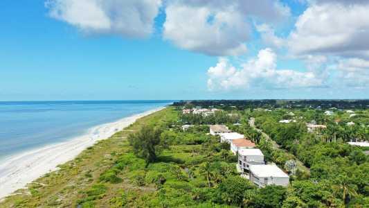 Drone Photo Sanibel Island Fl