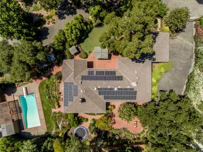 Drone Photo Santa Rosa CA