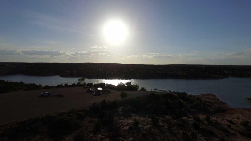 Drone Photo Santa Rosa NM