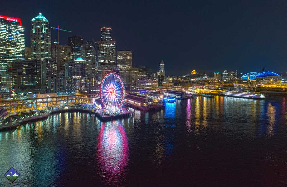 Drone Photo Seattle WA