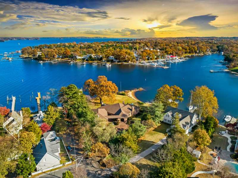 Drone Photo Severna Park MD