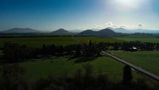 Drone Photo Shedd OR
