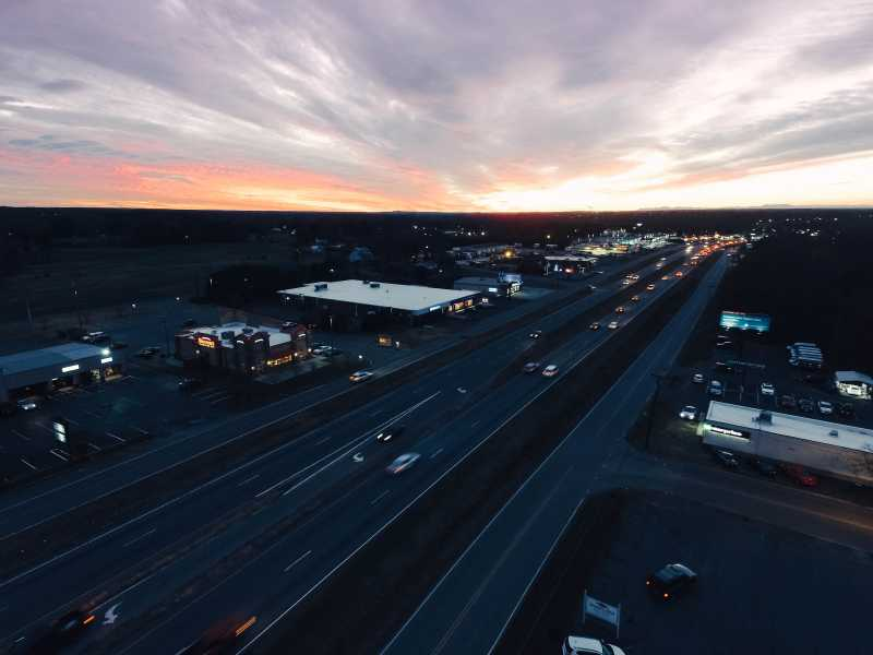 Drone Photo Shelby NC