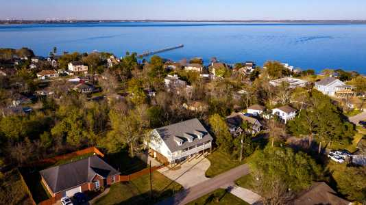 Drone Photo Shoreacres TX