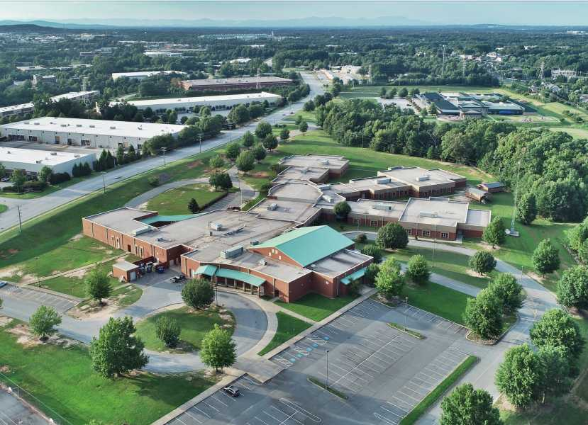 Drone Photo Simpsonville SC