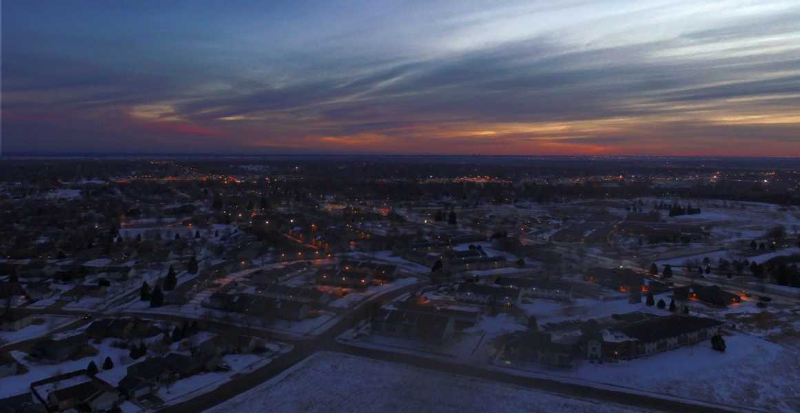 Drone Photo Sioux Falls SD