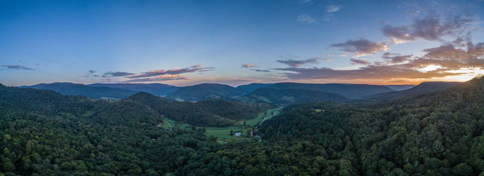 Drone Photo Slaty Fork WV