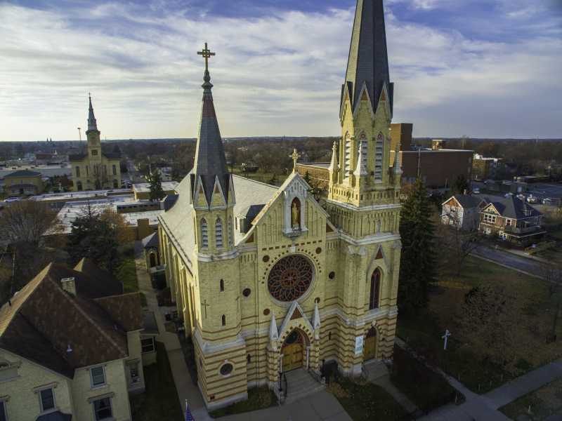 Drone Photo South Bend IN