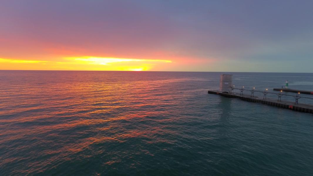 Drone Photo South Haven MI