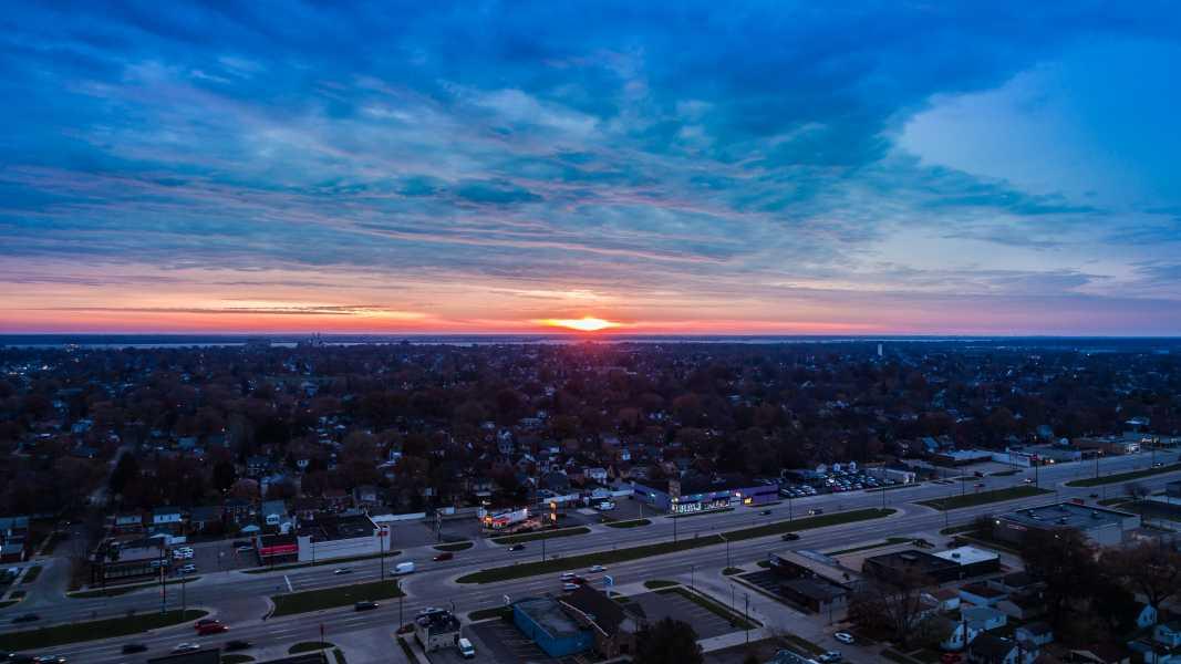 Drone Photo Southgate MI