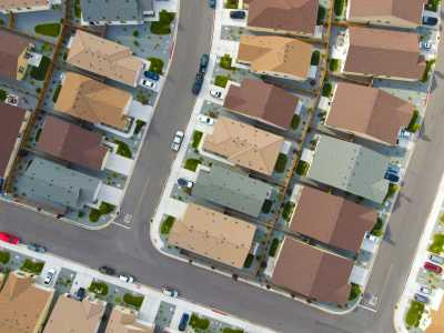 Drone Photo Sparks NV