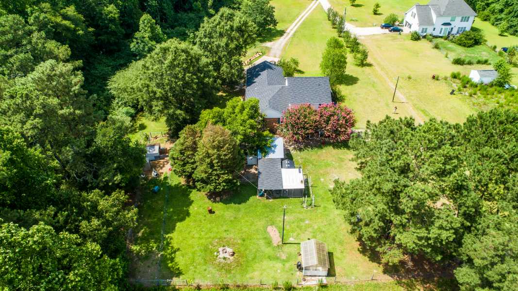 Drone Photo Spring Lake NC