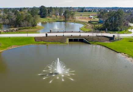 Drone Photo Spring TX