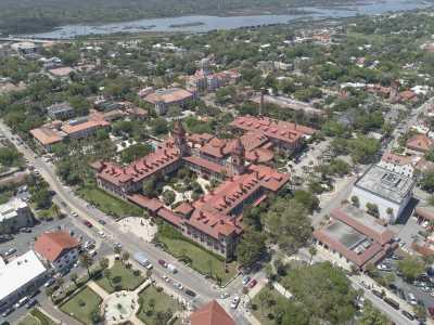 Drone Photo St. Augustine FL