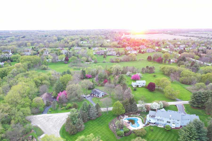Drone Photo St. Charles IL