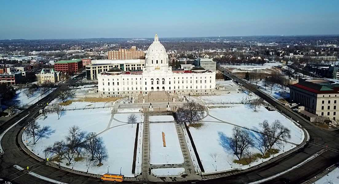 Drone Photo St Paul MN