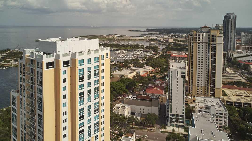 Drone Photo St. Petersburg FL