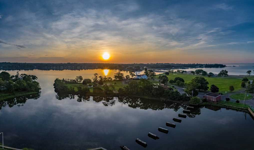 Drone Photo Stamford CT