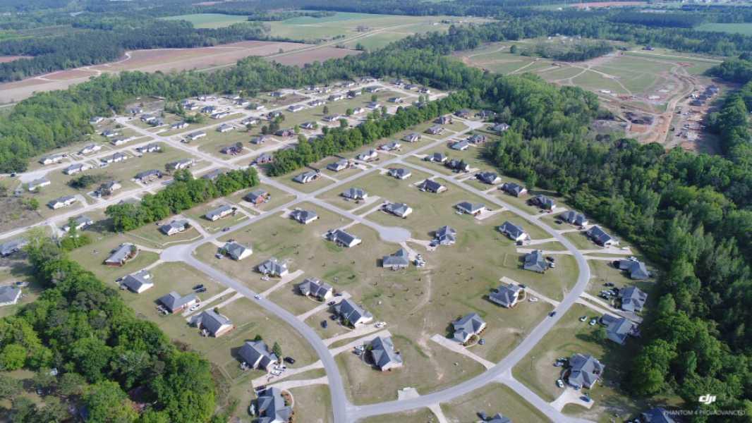 Drone Photo Statesboro GA