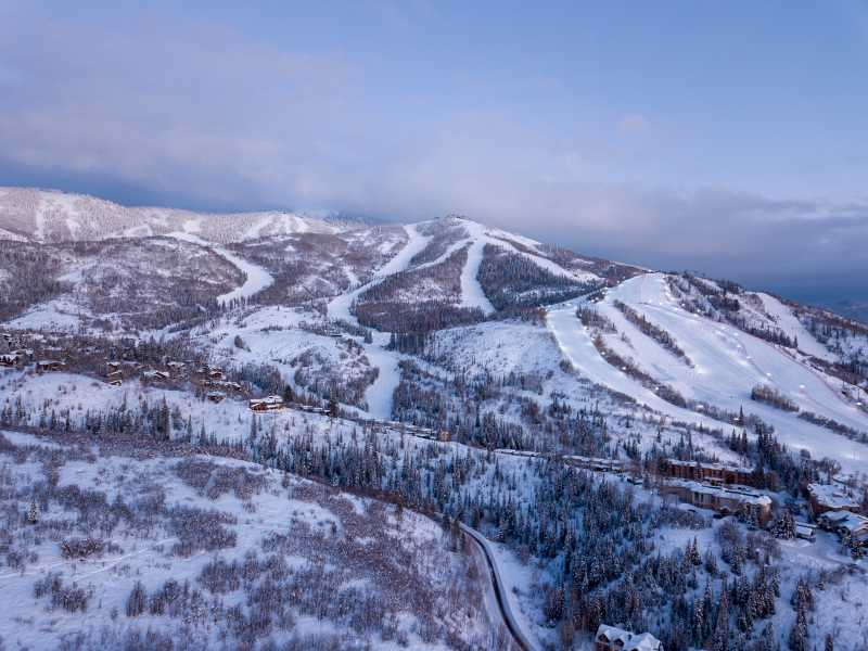 Drone Photo Steamboat Springs CO
