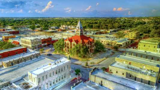 Drone Photo Stephenville TX