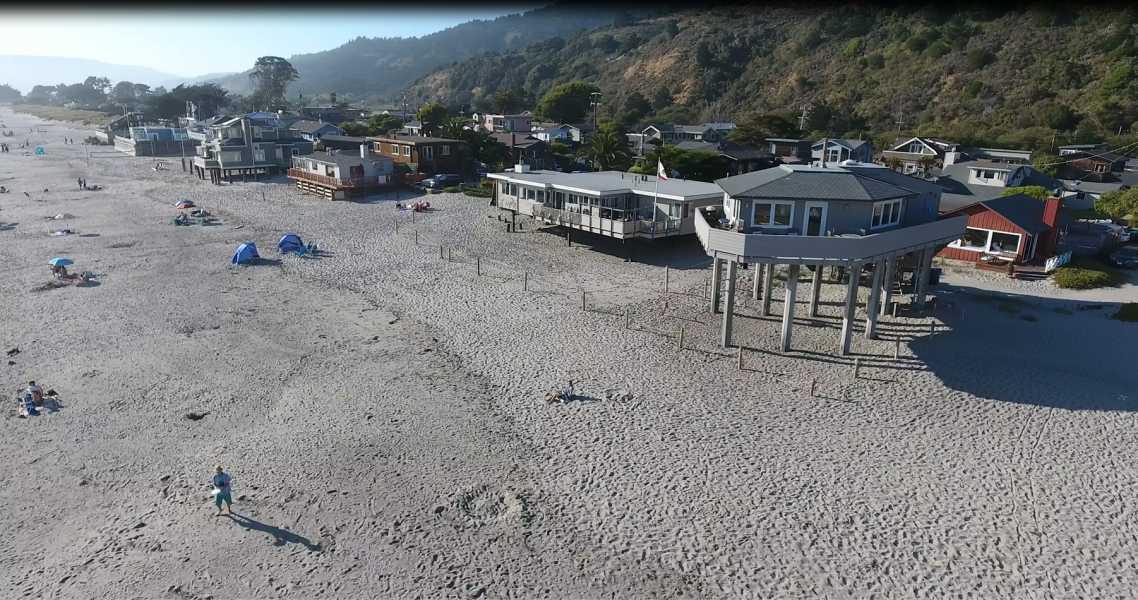 Drone Photo Stinson Beach CA