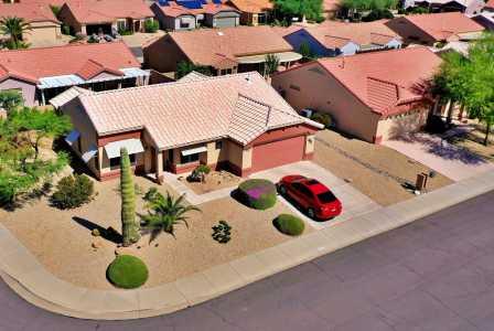 Drone Photo Sun City AZ