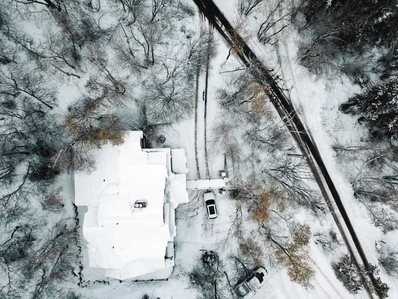 Drone Photo Sundance UT