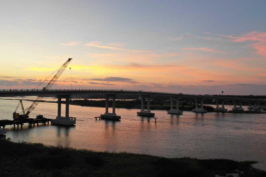 Drone Photo Surf City NC