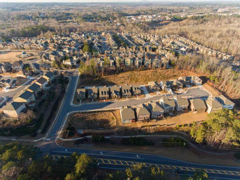 Drone Photo Suwanee GA