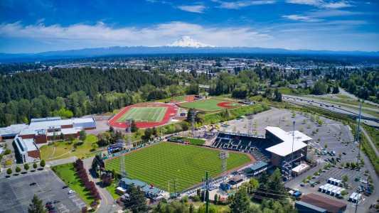 Drone Photo Tacoma WA