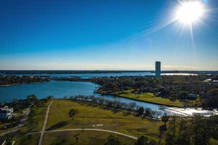 Drone Photo Taylor Lake Village TX
