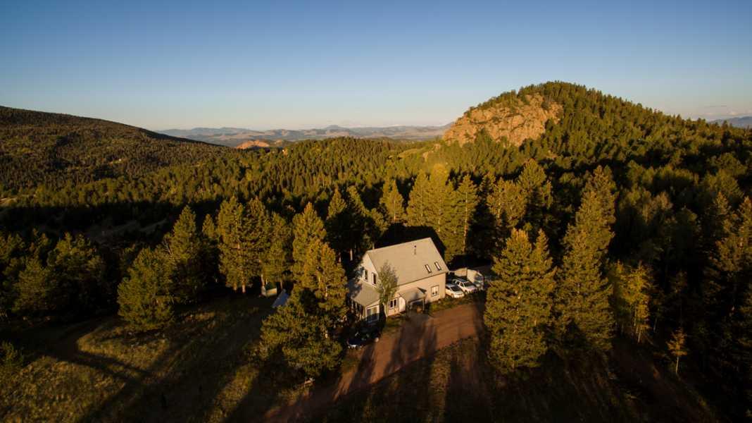 Drone Photo Teller County CO