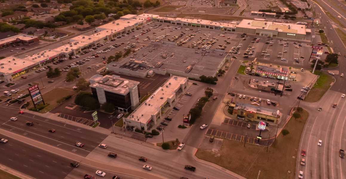Drone Photo Temple TX